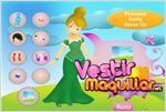 Juego  princess emily dress up vestir a la princesa emily