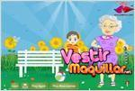 Juego  grandmother maggy dress up vestir a la abuela maggy
