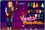 hannah montana popstar dress up vestir a hannah montana