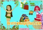 Juego  lolu dress up vestir a lolu