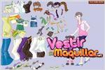 Juego  daughter and mother dress up vestir a la hija y a la madre