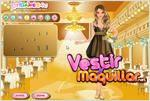 Juego  prom princess dress up vestir a la princesa del baile