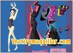 Juego  flamenco dress up vestir a la bailarina de flamenco