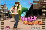 Juego  cow girl dress up vestir a la chica vaquera