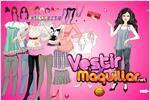 Juego  barbie vintage dress up estilo antiguo