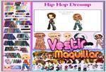 Juego  hip hop dress up vestir hip hop