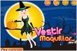 Juego  halloween beauty witch bella bruja