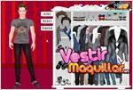 Juego twilight edward cullen dress up vestir a edward de crepusculo