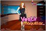 Juego  rachel nichols celebrity dress up vestir a rachel nichols