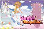 Juego  angel doll dress up muñeca angel