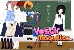 Juego  school time dress up game tiempo de escuela