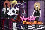 Juego  gosuloli dress up game look gotico